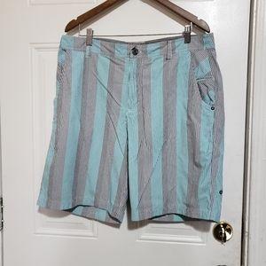 Lululemon men's striped casual shorts